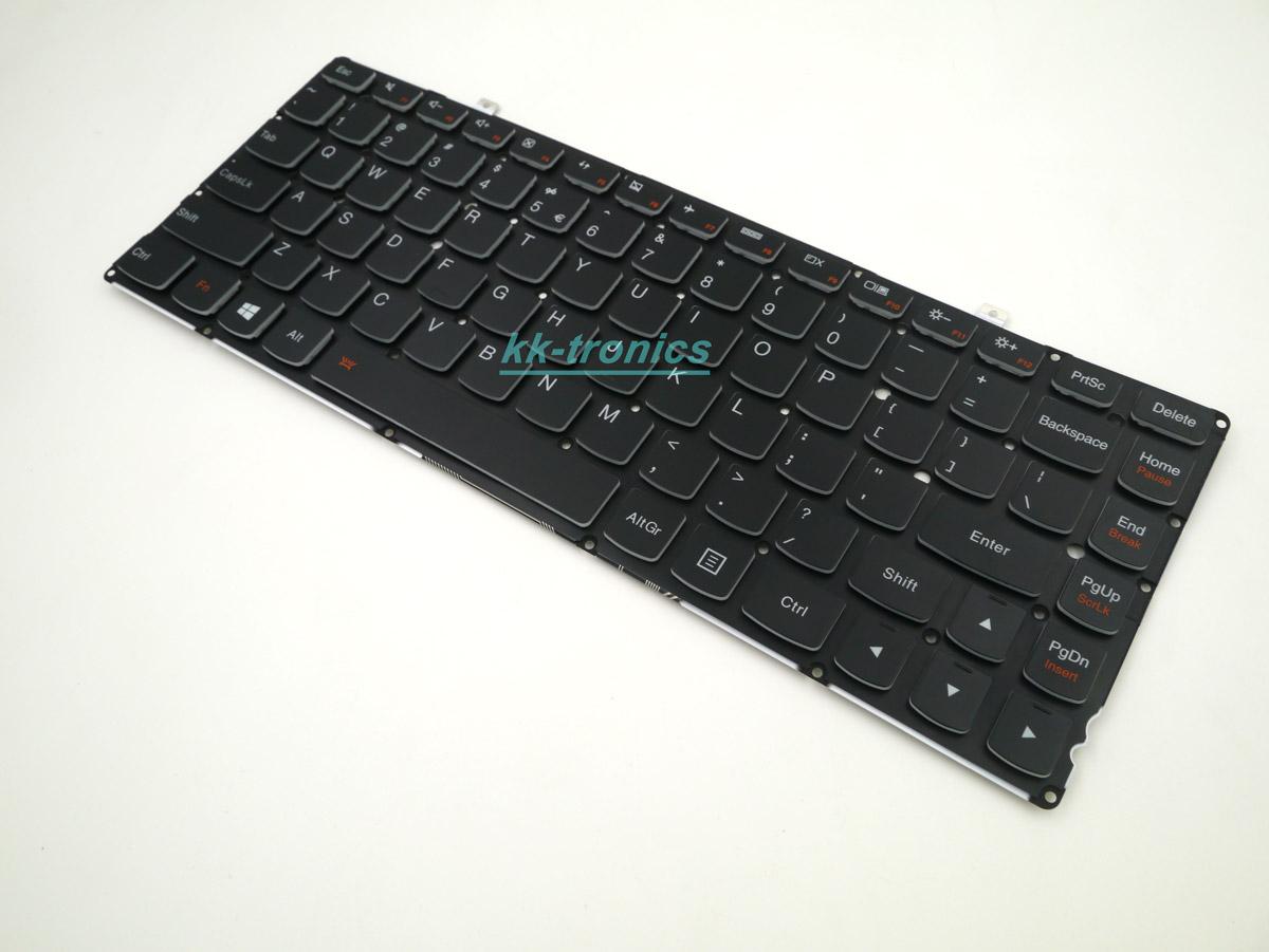 New Genuine Keyboard for Lenovo Ideapad Yoga 2 2 Pro Keyboard Backlit 25212844